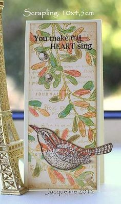 Using the stamps from SU An Open Heart on a scrapling which is 10 x 4,5cm here Handy as a gift tag on a package