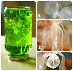 Jellyfish in a jar - this looks pretty cool