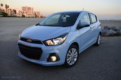 The 2016 Chevy Spark may seem tiny from the outside but it is jam packed full of all the hi-tech gadgets and features you need thanks to ChevyLink. Chevrolet Spark, Chevy Chevrolet, My Dream Car, Dream Cars, Car Colors, S Car, Cute Cars, Small Cars