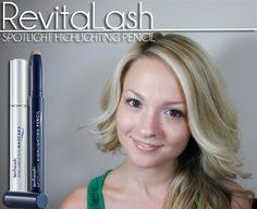 eb33f5c36b1 Review of the RevitaLash Spotlight Highlighting Pencil #makeup #beauty