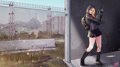 PUBG AUG girl with my favorite outfits! by Hey-SUISUI.deviantart.com on @DeviantArt