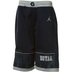 f290ddf181a7c5 Amazon.com   Nike Georgetown Hoyas Youth Navy Blue Jordan Replica Basketball  Shorts (X-Large)   Sports   Outdoors