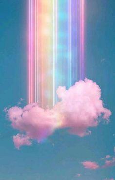 Wallpaper Pastel, Cloud Wallpaper, Cute Patterns Wallpaper, Rainbow Wallpaper, Iphone Background Wallpaper, Butterfly Wallpaper, Wallpaper Art, Slime Wallpaper, Glitter Wallpaper