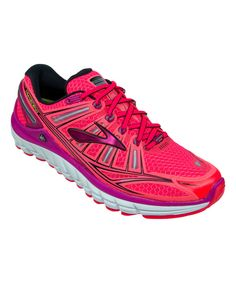 Look at this Brooks Diva Pink & Festival Fuchsia Transcend Running Shoe - Women on #zulily today!