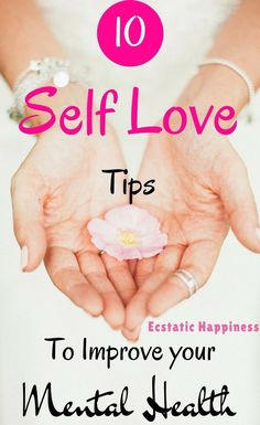 You've only got one life—it's time you take it back into your hands and live it to the fullest. Read these 10 self care tips to improve your mental health and implement them right away. Self Confidence Tips, Love Challenge, Self Love Affirmations, Self Development, Personal Development, Learning To Love Yourself, Love Tips, Self Care Routine, Learn To Love