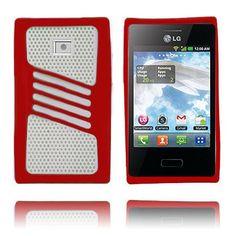 Atlantic (Rød) LG Optimus L3 Deksel
