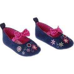 Rock A Bye Baby βρεφικά παπουτσάκια αγκαλιάς «Flowery Step» - Παιδικά ρούχα AZshop.gr