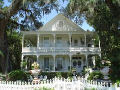 abandoned houses in florida | Historic and/or Abandoned Homes / 1880 Taylor-Dr Gwynn-Mackenzie house ...