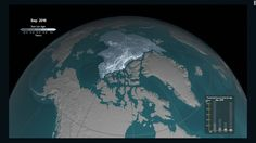 Scientists recently released time-lapse animation comparing Arctic sea ice since 1984 with now. The old sea ice -- the Arctic sea ice that lasts year after year -- is smaller than it has been in three decades.