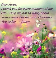 Great daily prayer!