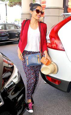 Frieda Pinto: Travel Style | Departing 2014 Cannes Film Festival | <E! Online>