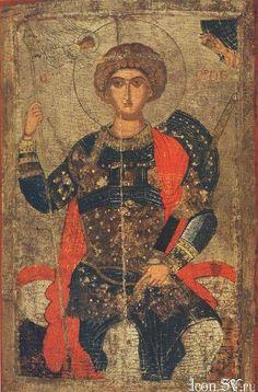 Byzantine Icons, Byzantine Art, Religious Paintings, Religious Art, Patron Saint Of England, Saint George And The Dragon, Orthodox Icons, Renaissance Art, Christian Art