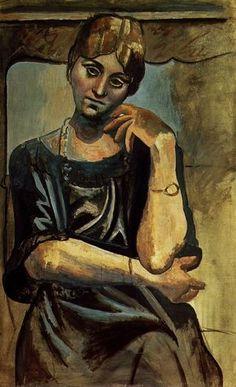 Pablo Picasso - Olga Kokhlova 1, 1917