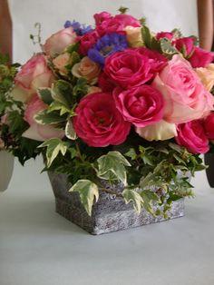 ¡Alegría! Trabajo realizado por Floristería La Regadera.