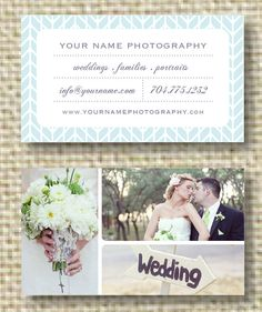 Premade Digital Photography Business Card by designbybittersweet, $15.00