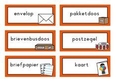 Themahoek postkantoor | Klas van juf Linda Letters, Seeds, Letter, Lettering, Calligraphy