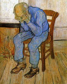 Vincent van Gogh - Sorrowful Old Man, 1890