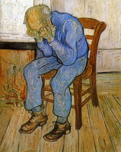 Vincent van Gogh - Sorrowful Old Man, 1890