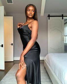 Black Girls, All Black, Indian Girls Images, Tights, Minimalist, Formal Dresses, Fashion, Beautiful Black Women, Facts