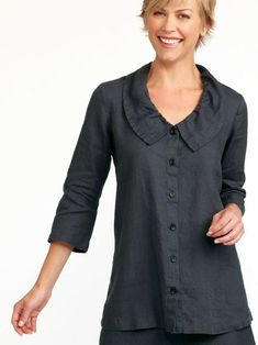 Flax Clothing, Tunic Tops, Blouse, Long Sleeve, Sleeves, Clothes, Women, Fashion, Outfits