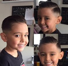 Choosing the best little boy haircuts can be tricky,However, if you want to come up with the top little boys haircuts for your kids, here we have a lot of options waiting for you to make a pick from. Cute Little Boy Haircuts, Little Boy Hairstyles, Cute Little Boys, Teen Hairstyles, Boys Haircuts 2018, Hard Part Haircut, Slicked Back Hair, Hair Cuts, Hair Color