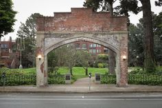 "SF's 6 Best Disregarded Monuments - The Bold Italic - San Francisco / Colombo Market Archway  In the late 1800s, the southern neighborhoods from Lake Merced to Bayview were largely populated by produce farmers. Families would load their horse-drawn wagons with produce and make the hours long trek to the Colombo Produce Market at what is now Sydney G. Walton Square. The market was called ""the greatest vegetable market in the world"" and was a vital point of commerce in San Francisco for almost…"