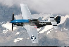 North American P-51D Mustang,  Courchevel (CVF / LFLJ) France, August 14, 2013