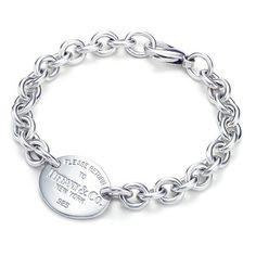 edcc2d82ae5d Tiffany   Co Outlet Elegant Engraved Oval Tag Bracelet