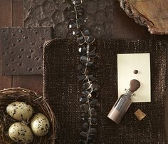 Daring to paint a room dark brown can create a sophisticated, cozy atmosphere.