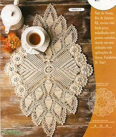 Beautiful crocheted doily