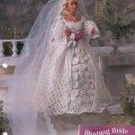 Garden Party Dress for Barbie Free Crochet Pattern ⋆ Crochet Kingdom