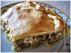 Μανιταρόπιτα Mushroom Pie, Spanakopita, Apple Pie, Stuffed Mushrooms, Cooking, Ethnic Recipes, Desserts, Food, Hair