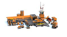 Custom LEGO City Arctic Base Camp MOC base. This MOC features big custom arctic building with custom snowmobiles, crawlers, transport trucks and helicopter.