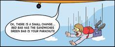 change management communication comic strip