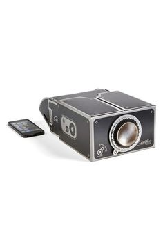 Luckies of London Smartphone Projector Kit Black One Size by: Luckies of London @Nordstrom