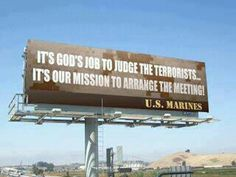 Wow! Marines are brave and bold! :)