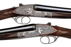 A RARE PAIR OF 12-BORE HAMMER EJECTOR GUNS Holland&Holland