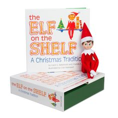 TOYS & GAMES - Elf on the Shelf:A Christmas Tradition (blue-eyed boy scout elf)