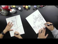 How To Draw A Haunted House - Art for Kids Hub