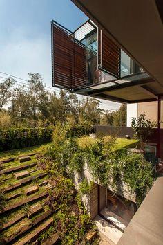Los arquitectos de ZD+A concibieron un oasis urbano en pleno corazón de la capital mexicana.
