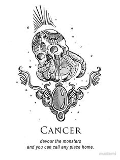 Cancer - Shitty Horoscopes Book VII: Magick by musterni