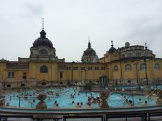 Széchenyi Baths @ Budapest
