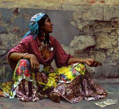 Gypsy style, gypsy, cigan, photo