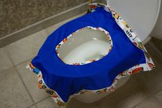 On the Go Reusable & Washable Toilet Seat Cover w/ by MyOutdoorMom, $23.00