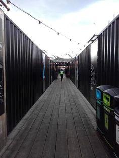 Boxpark Shoreditch - Picture of Boxpark Shoreditch, London - TripAdvisor England Tourism, Magazine Advert, London Hotels, London England, Pop Up, Trip Advisor, Basil, Moose, Inspiration