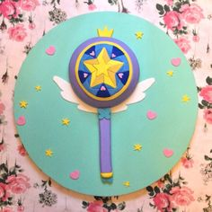 star vs the forces of evil wand birthday cake