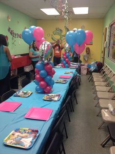 Smurf Birthday party