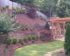 Steep like ours....Landscape Hillside Design, Pictures, Remodel, Decor and Ideas - page 112