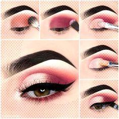 Make-up tutorial step by step - dress models can find Under eye makeup and more on our website.Make-up tutorial step by step - dress models Steps Dresses, Makeup Tips, Hair Makeup, Under Eye Makeup, Hacks, Make Up, Lipstick, Dress Models, Eyes