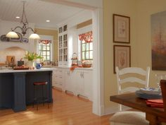 From beadboard to molding, get tips from HGTVRemodels for creating a charming farmhouse kitchen.